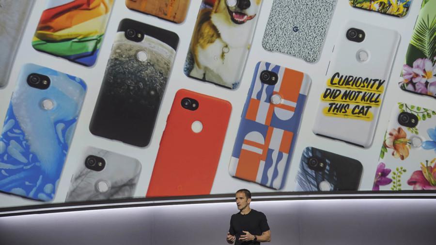 Mario Queiroz president of Google keynote