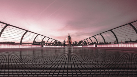 Millennium Bridge St Paul's