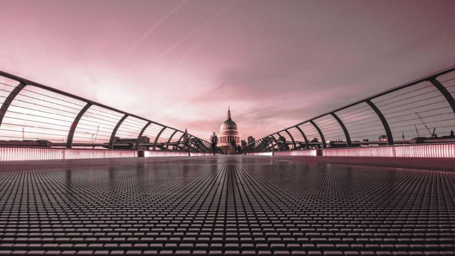 Millennium Bridge St Paul's