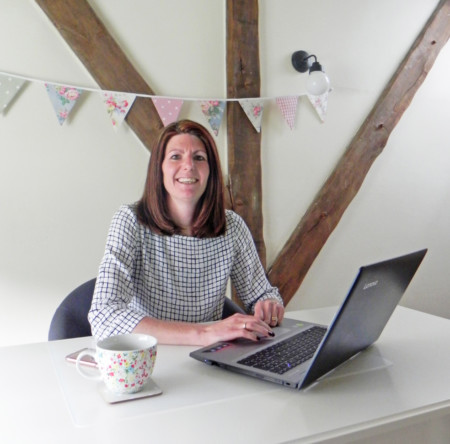 Lisa Forde, director of online stationery companies Dotty About Paper and Tree of Hearts