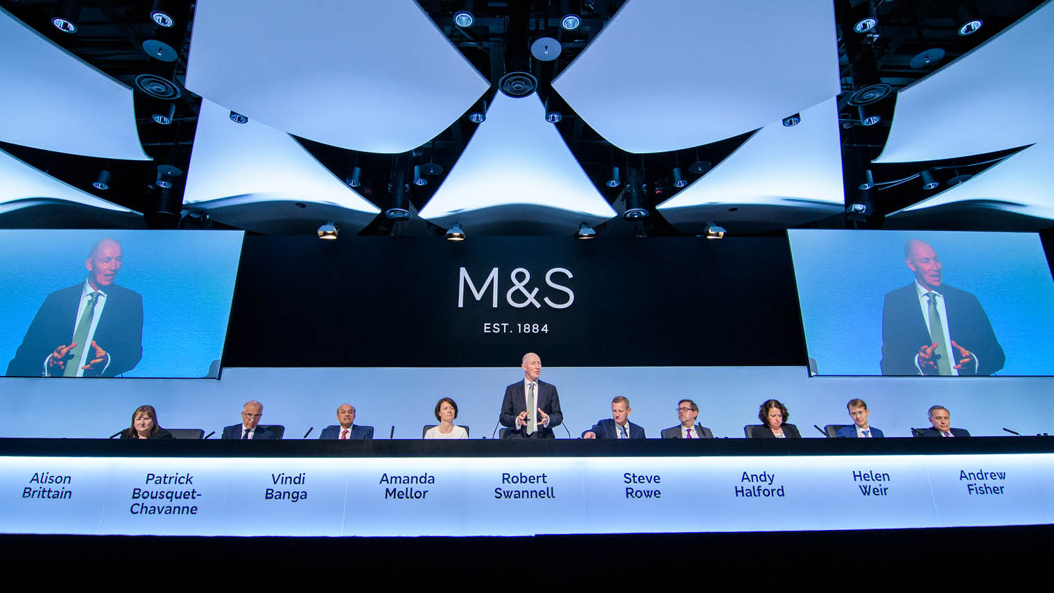 Marks & Spencer press conference