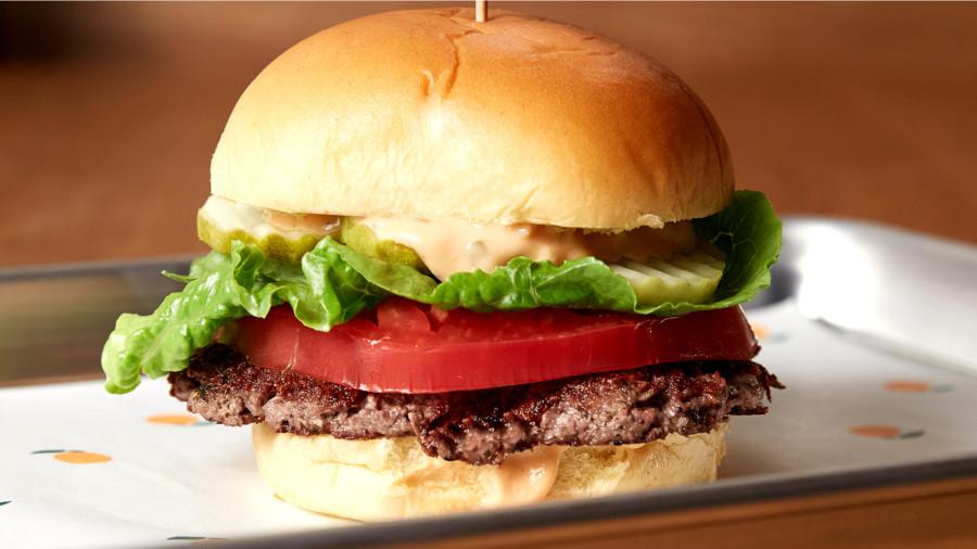 meat free burger