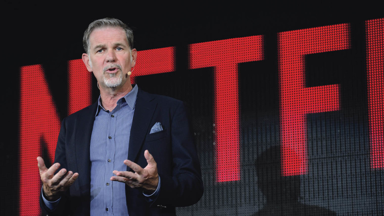 Neflix CEO Reed Hastings