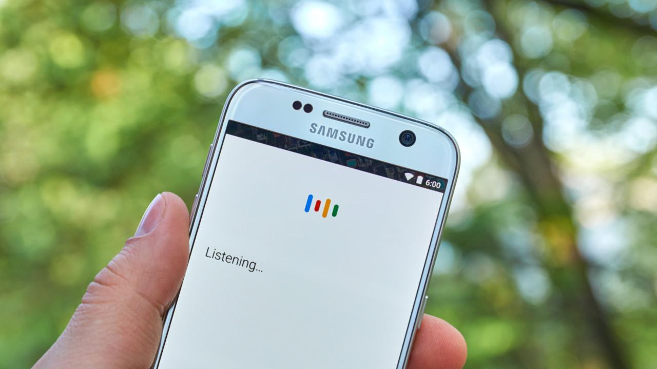 Ok Google on phone screen