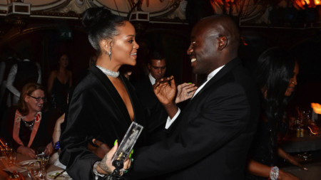 Rihanna and Edward Enninful