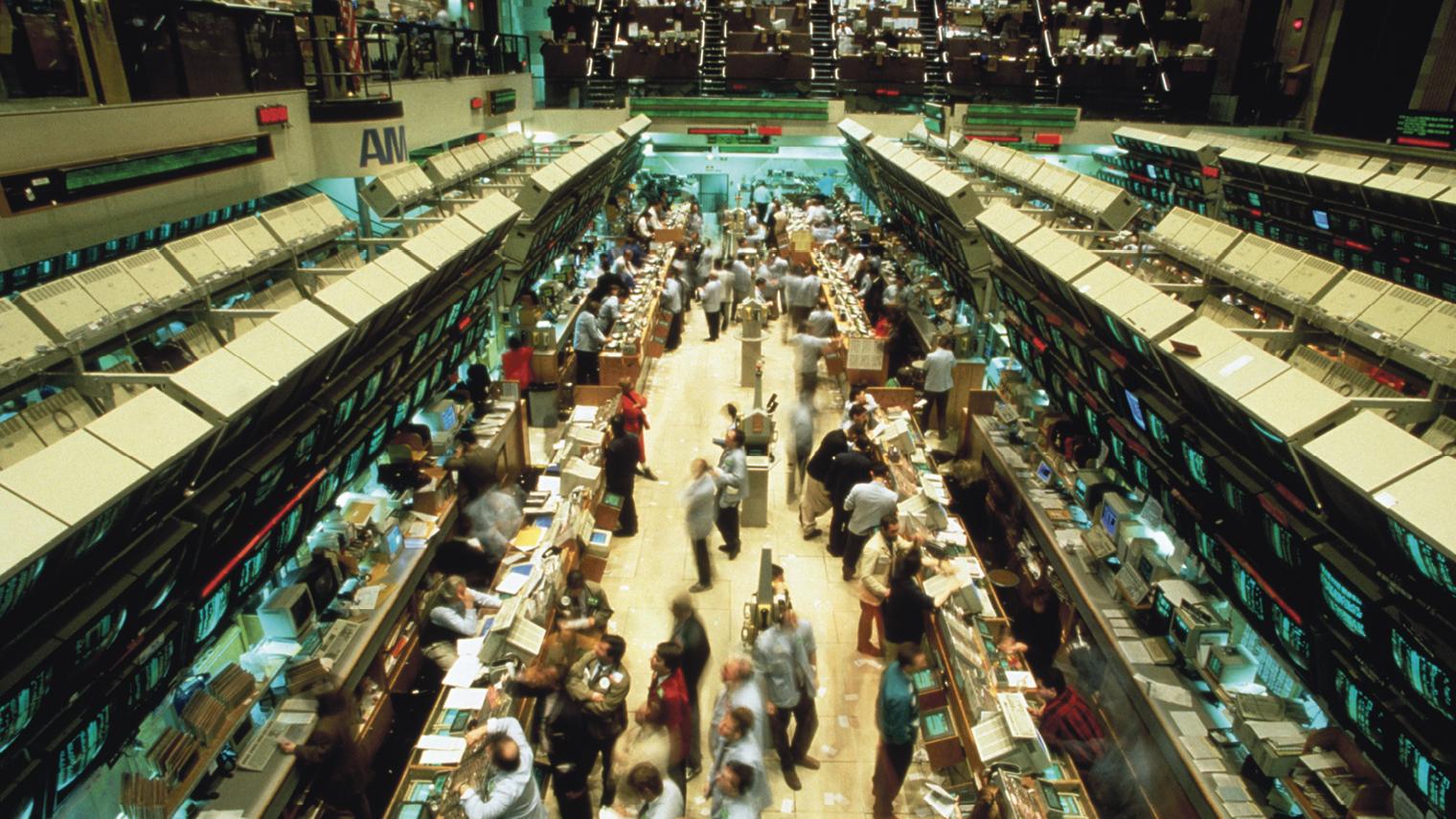 trading floor