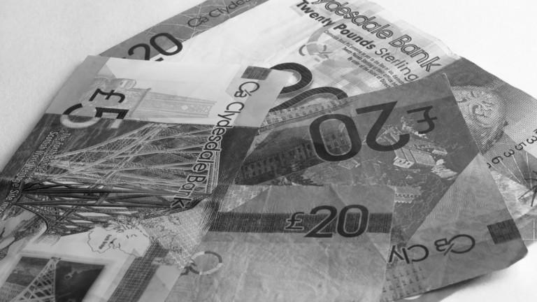 Scottish sterling cash