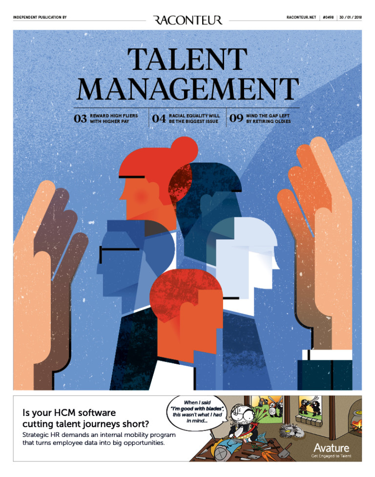 Talent Management special report cover 2018