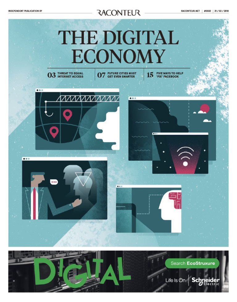 The Digital Economy 2018 special report cover