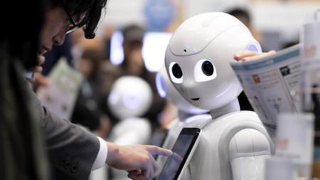 Pepper humanoid robot