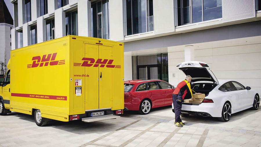 DHL van
