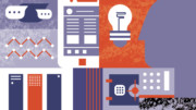 Wealth management and digital illustration
