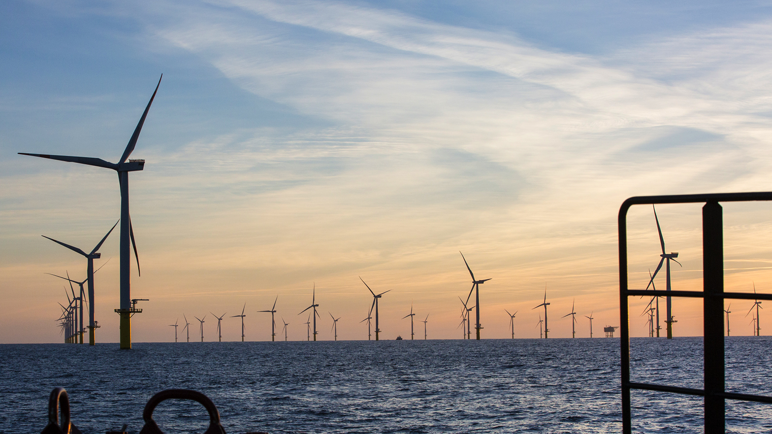 Offshore wind farms have boomed under UK government planning support and subsidies