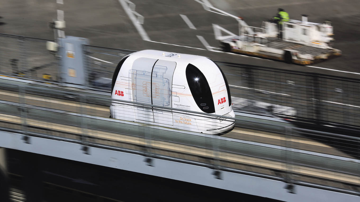 Heathrow self-driving pods