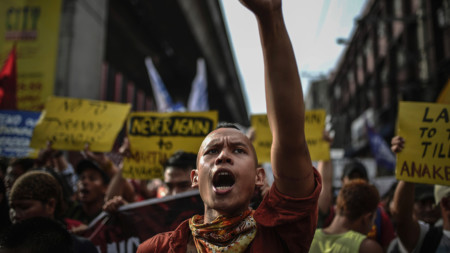 Protest in Philippines