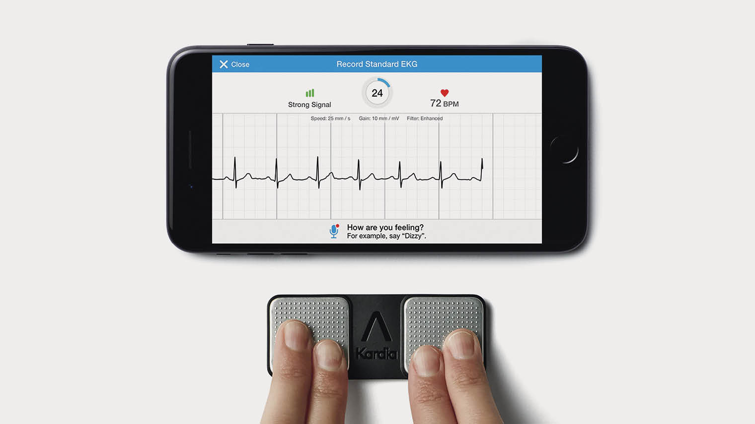 AliveCor's KardiaMobile app