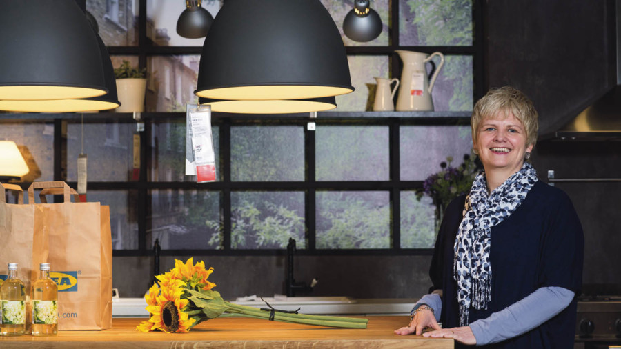 IKEA's UK and Ireland country manager Gillian Drakeford says a top-down and bottom-up approach to changing attitudes is needed