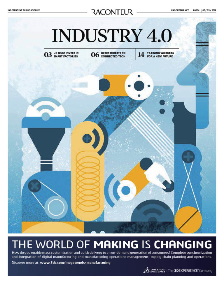 Industry 4.0 special report cover