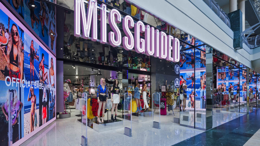 Missguided retail experience store