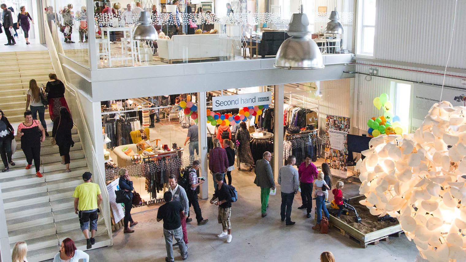 ReTuna Återbruksgalleria, the world's first recycling mall