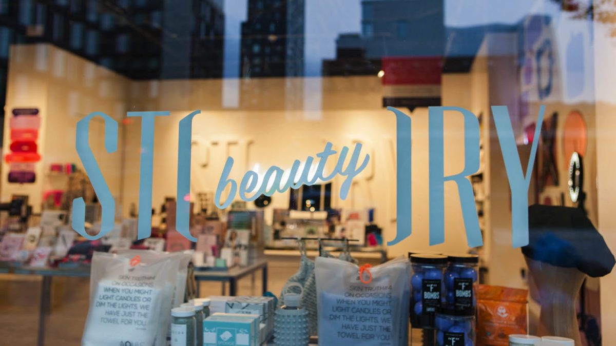 STORY immersive branding store front
