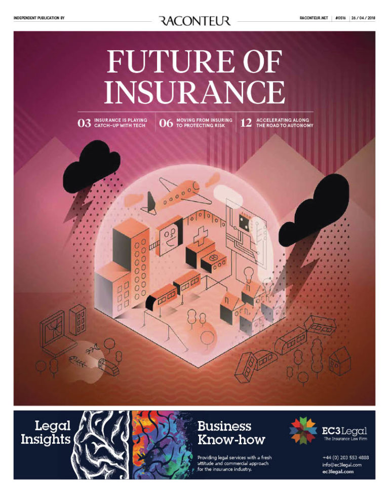 Future of Insurance special report cover