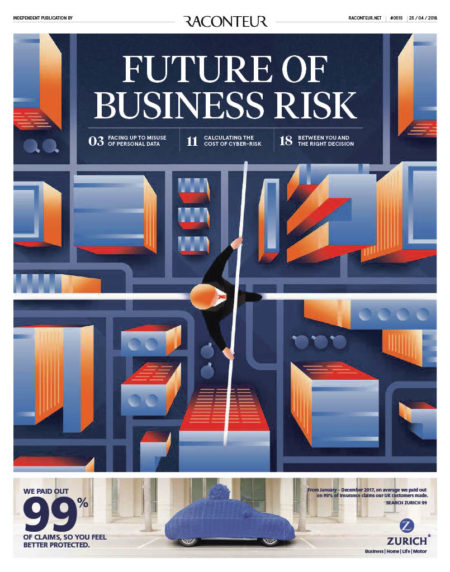 Future of business risk report cover