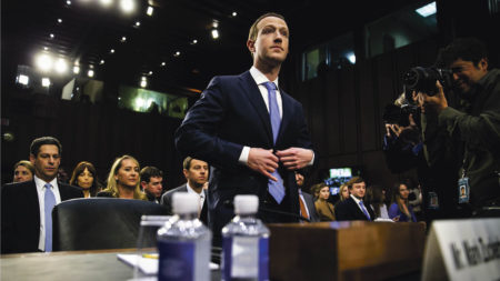 Mark Zuckerberg in US court