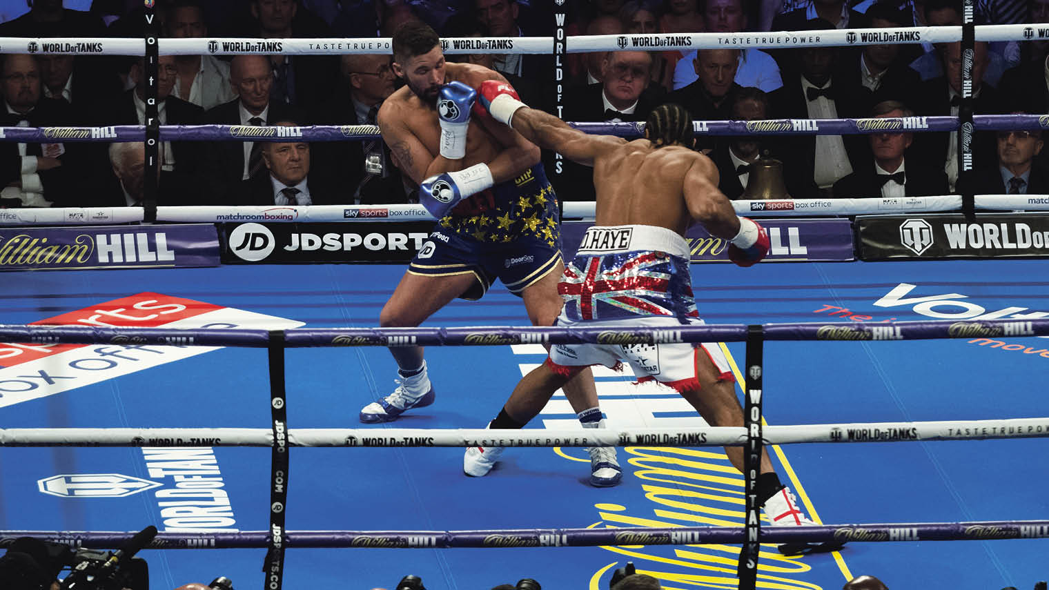 David Haye boxing