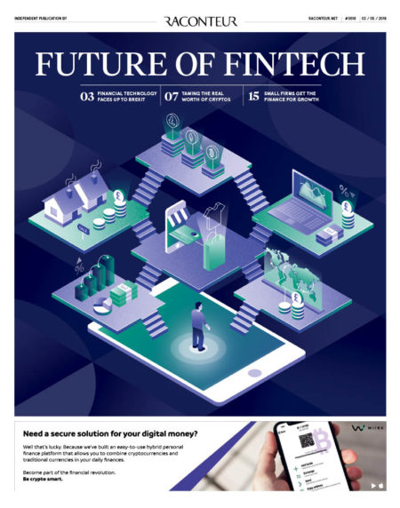 Future of Fintech special report cover