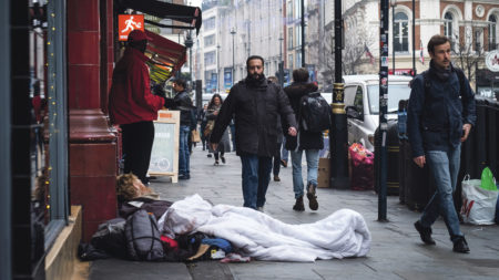 smaller charity local homeless support