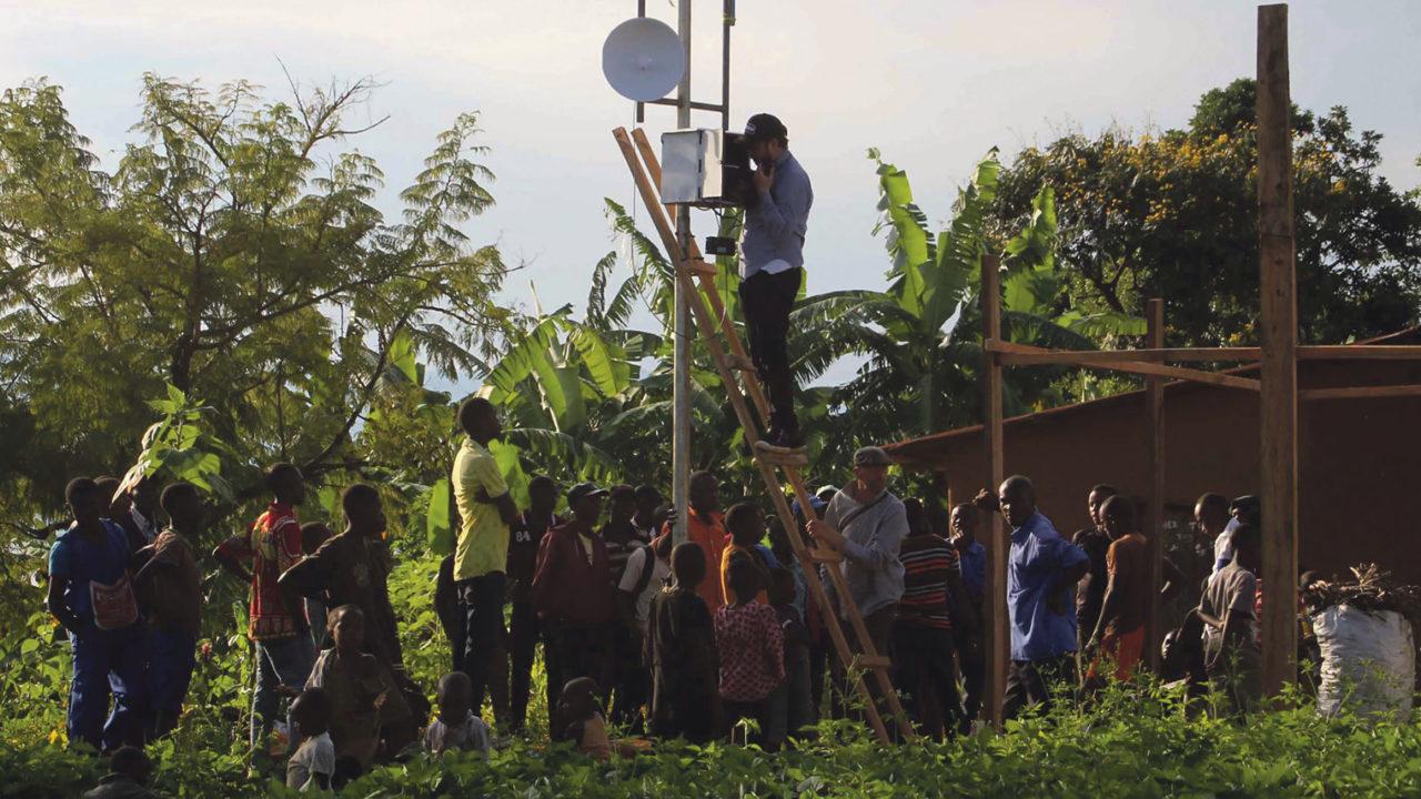 charity partnerships East Congo
