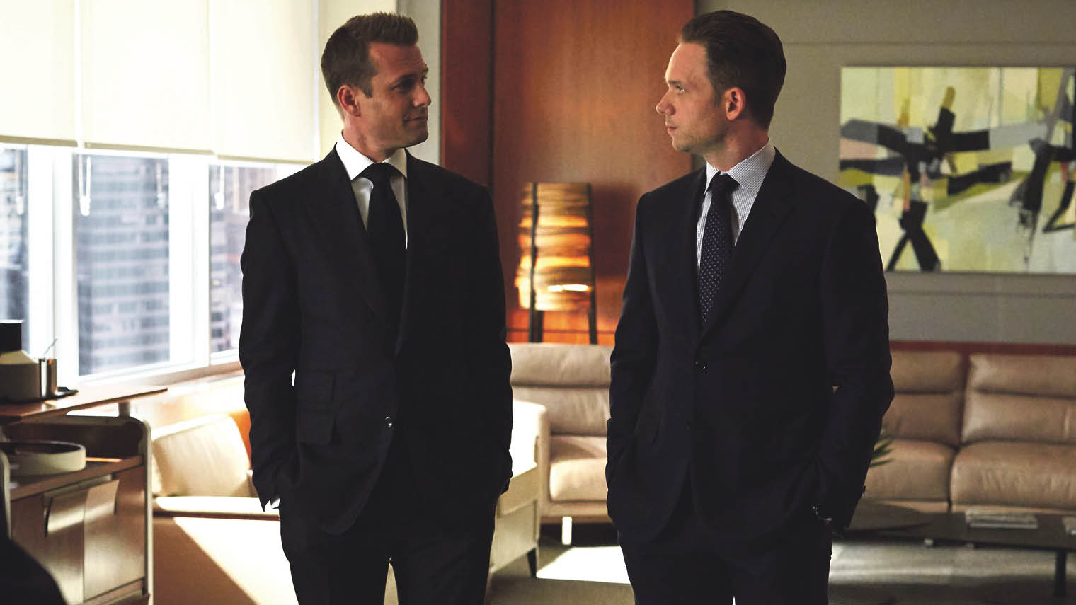work friendships - characters from Suits