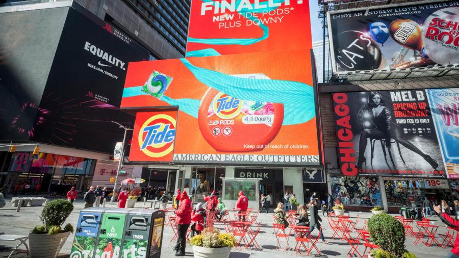 digital advertising boards in new york city