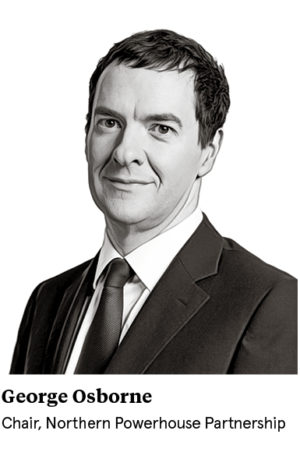 George Osborne, chair Northern Powerhouse Partnership
