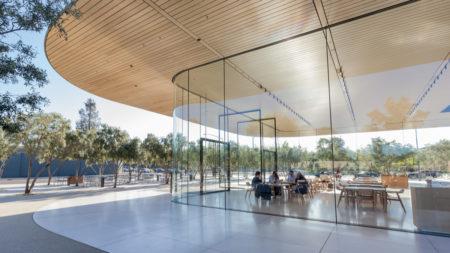 Apple's mega HQ in Cupertino
