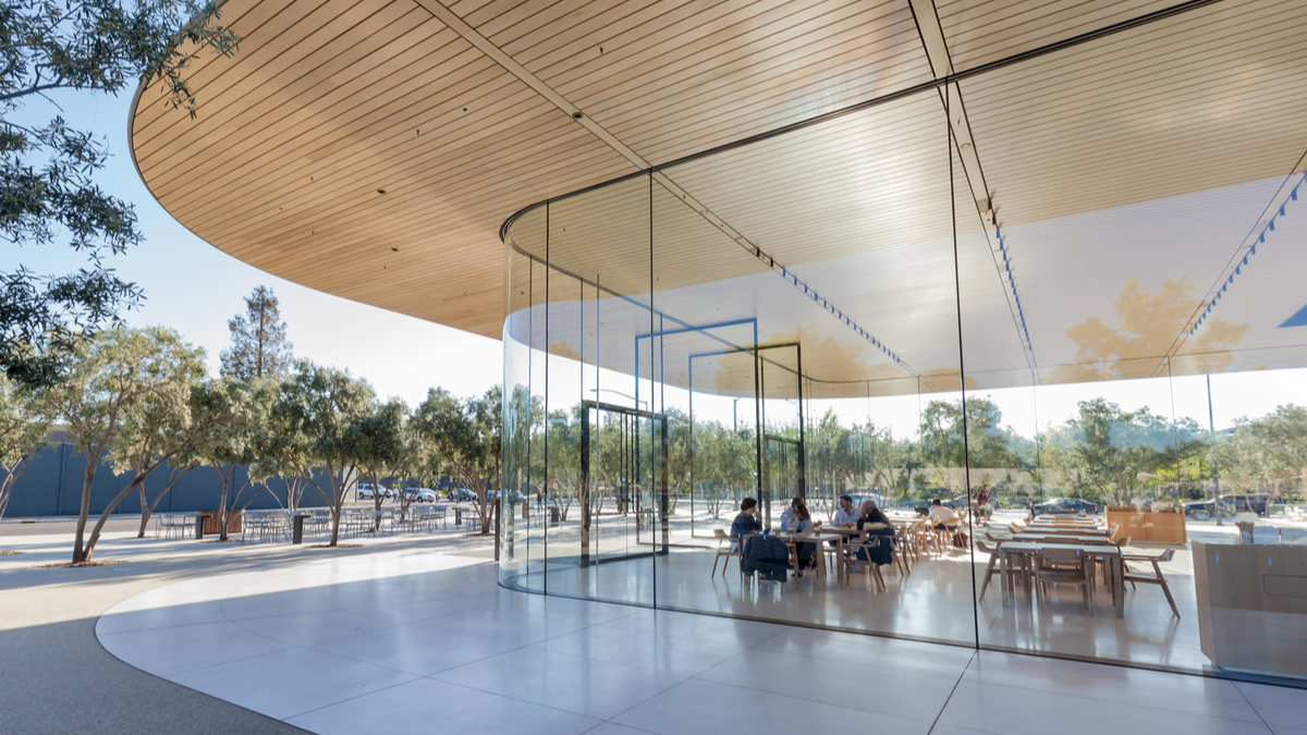 Apple's mega HQ in Cupertino