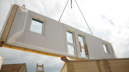 modular homes wall