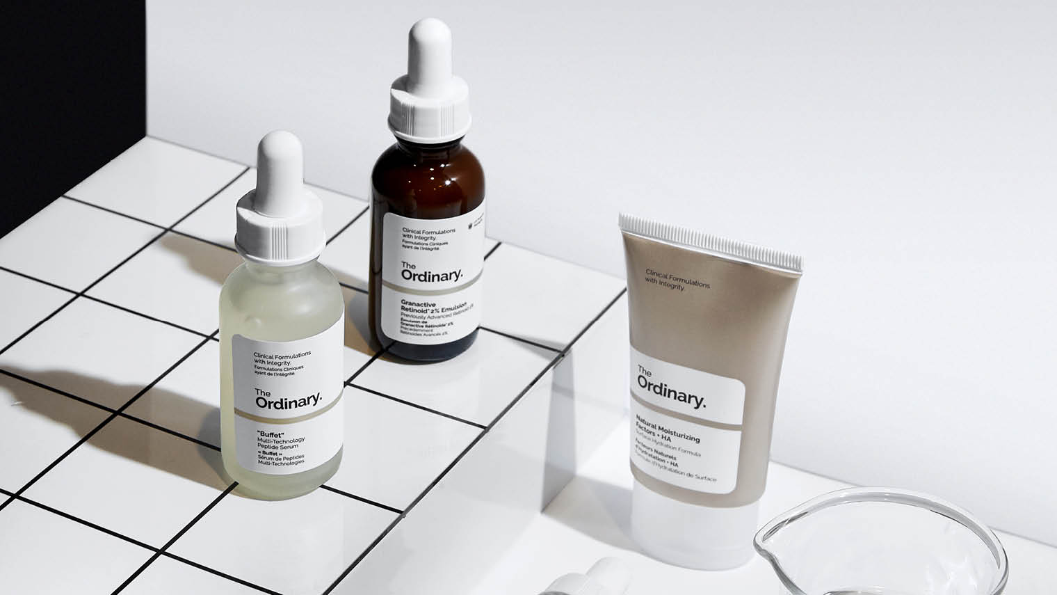 the ordinary skincare packaging design