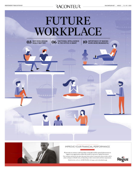 Future workplace 2018 cover, the Times newspaper
