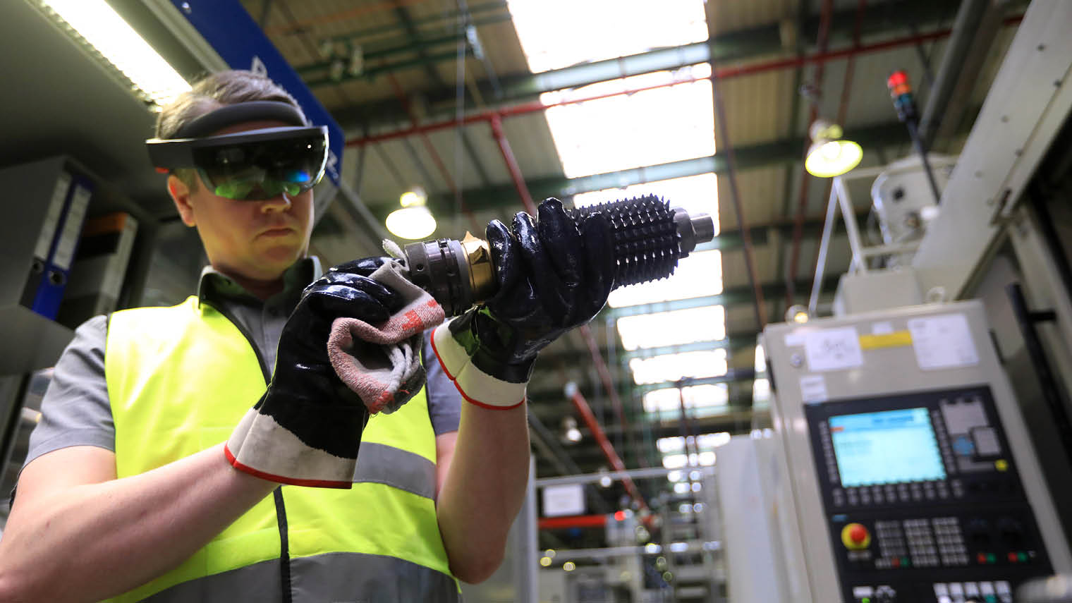 Augmented Reality A Vision For The Future Of Manufacturing