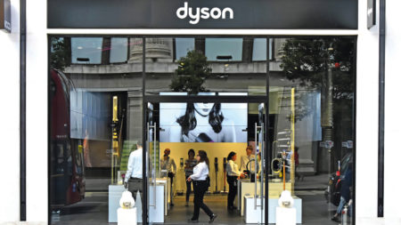 dyson storefront customer experience