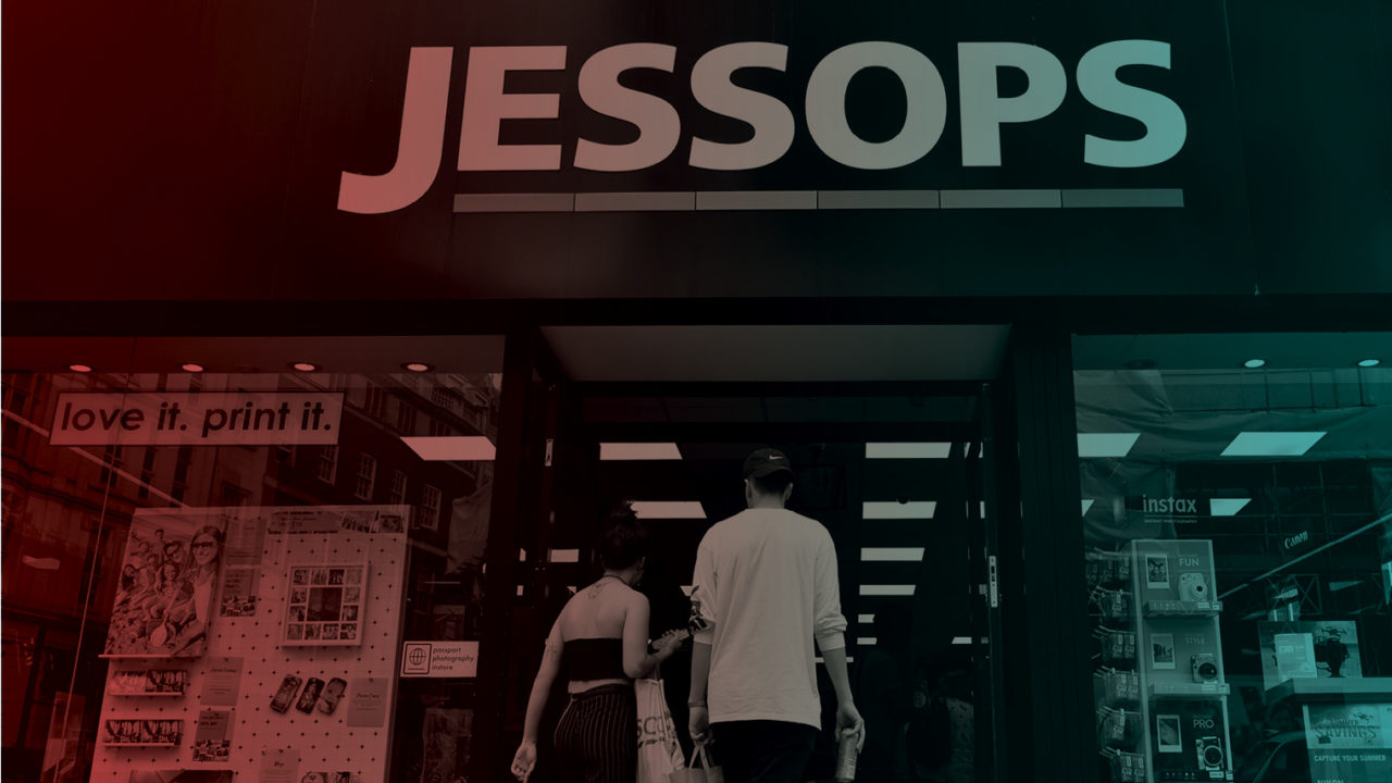 Jessops storefront after business turnaround