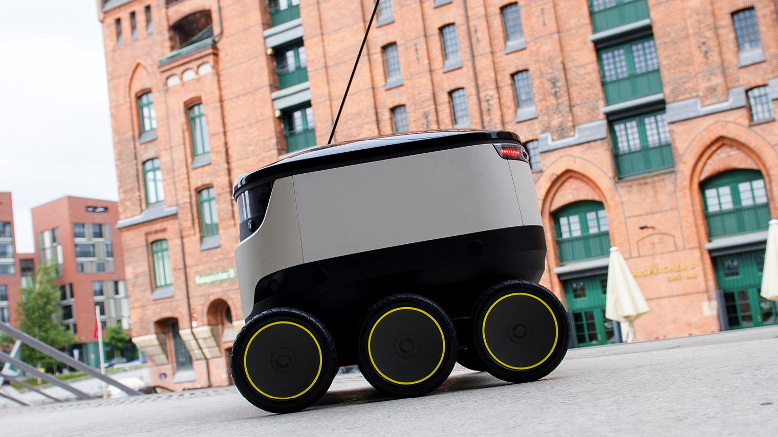 Hermes robot for last-mile logistics