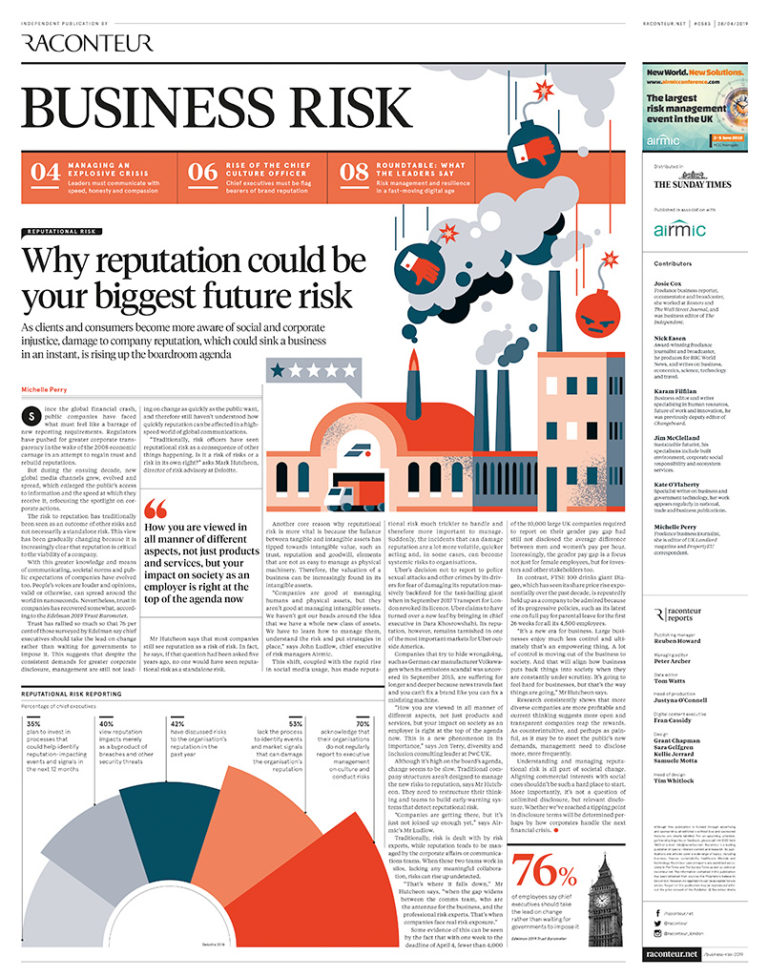 Business Risk 2019 Archives - Raconteur