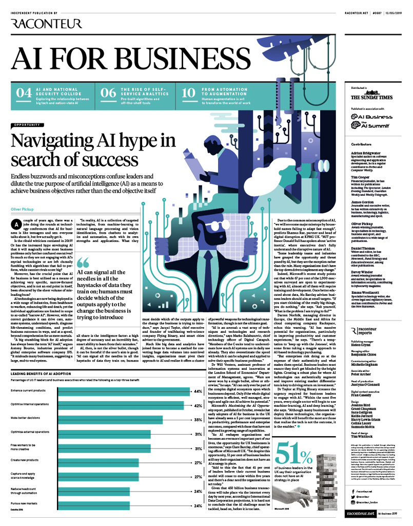raconteur.net - Artificial Intelligence for Business 2019 Archives