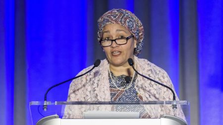Amina Mohammed, DSG of the UN