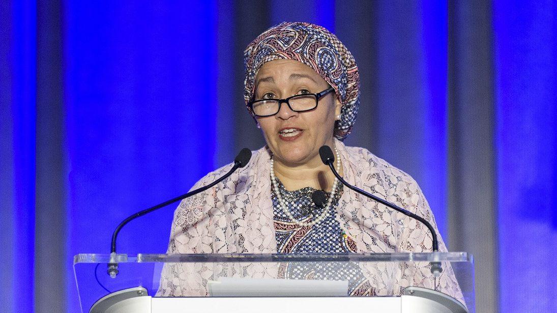 Amina Mohammed, DSG of the UN