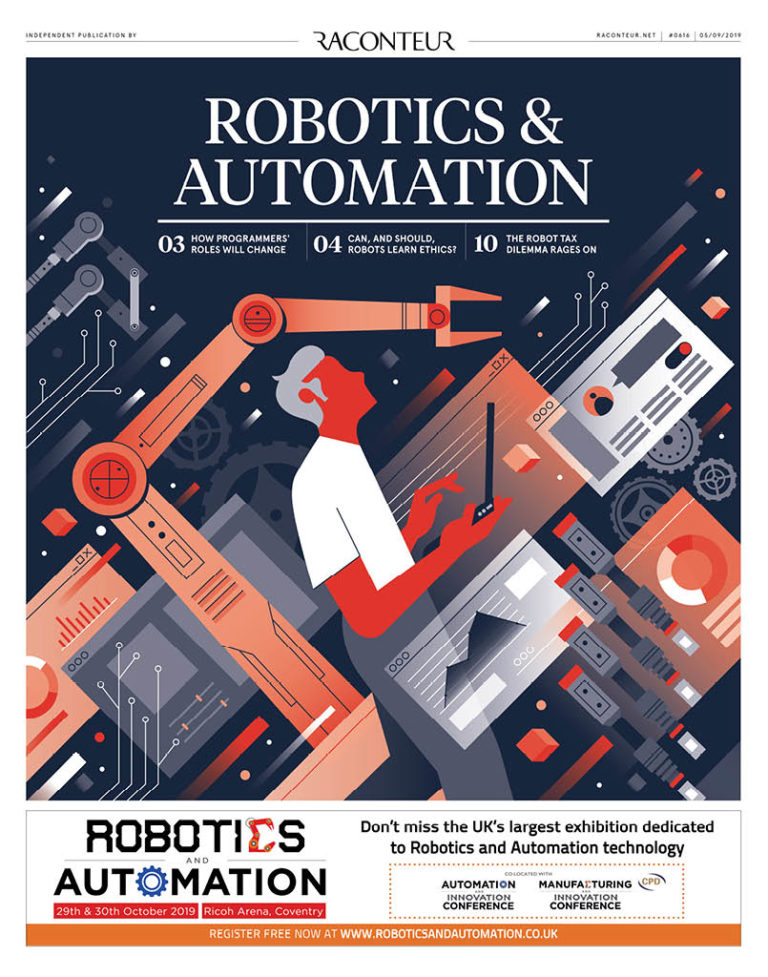 Robotics & Automation 2019 Archives - Raconteur