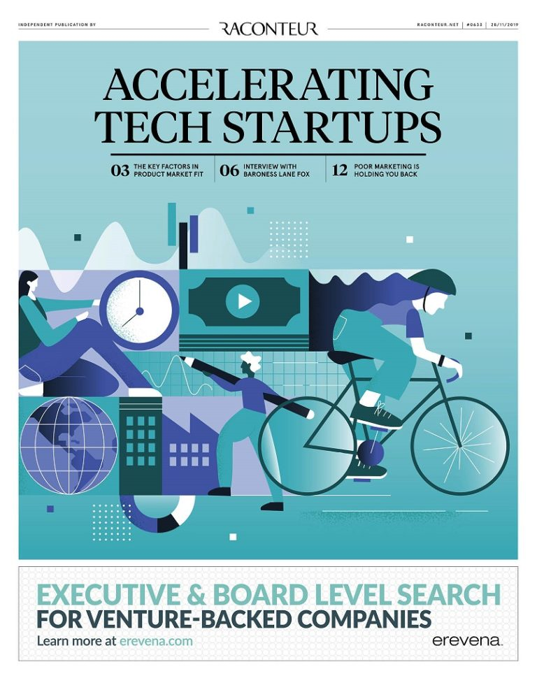 Accelerating Tech Startups cover